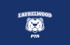 Laurelwood PTA Logo (White)