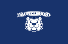 Laurelwood w/ Tiger Head Logo (White)